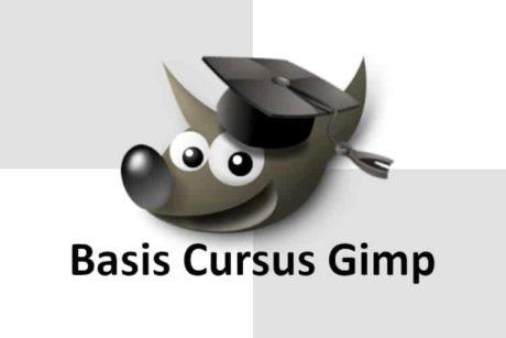basis cursus Gimp