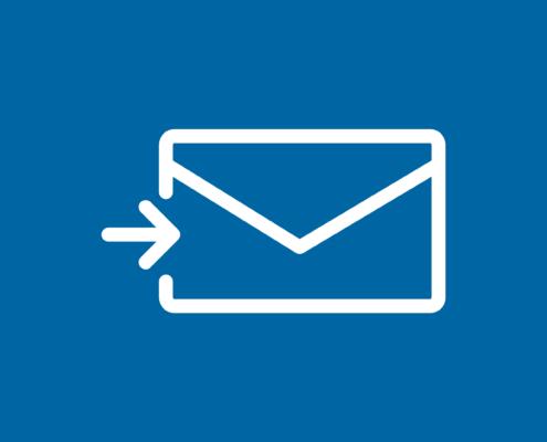 Lees hoe je e-mail gebruikt om een cursus te versturen