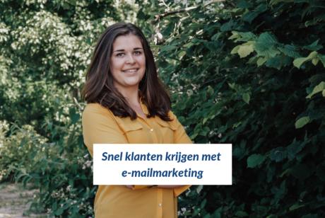 Snel klanten krijgen met e-mailmarketing - Rachelle Blok