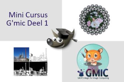 Mini Cursus G'Mic deel 1