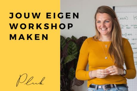 Omslagfoto online cursus maak je eigen workshop