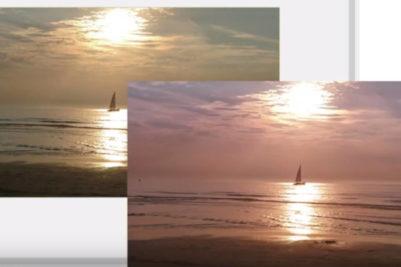 kleurverloop maakt je foto mooier