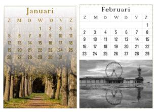 kalender Gimp 2020