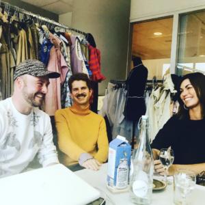 Session with designers Schueller De Waal