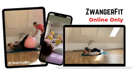 Zwangerfit online only