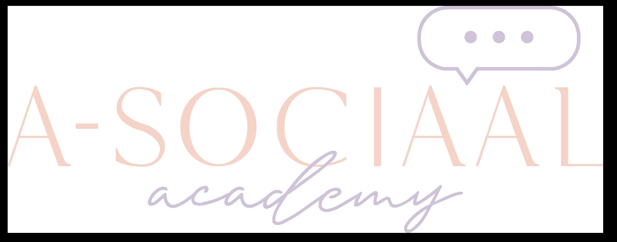 A-Sociaal Academy