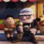 """Carl, Russell en Dug uit de film """"Up"""". Pixar is de autoriteit op het gebied van empathie creëeren met storytelling. Afbeelding van Pixar."""