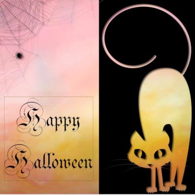 halloweenkaart