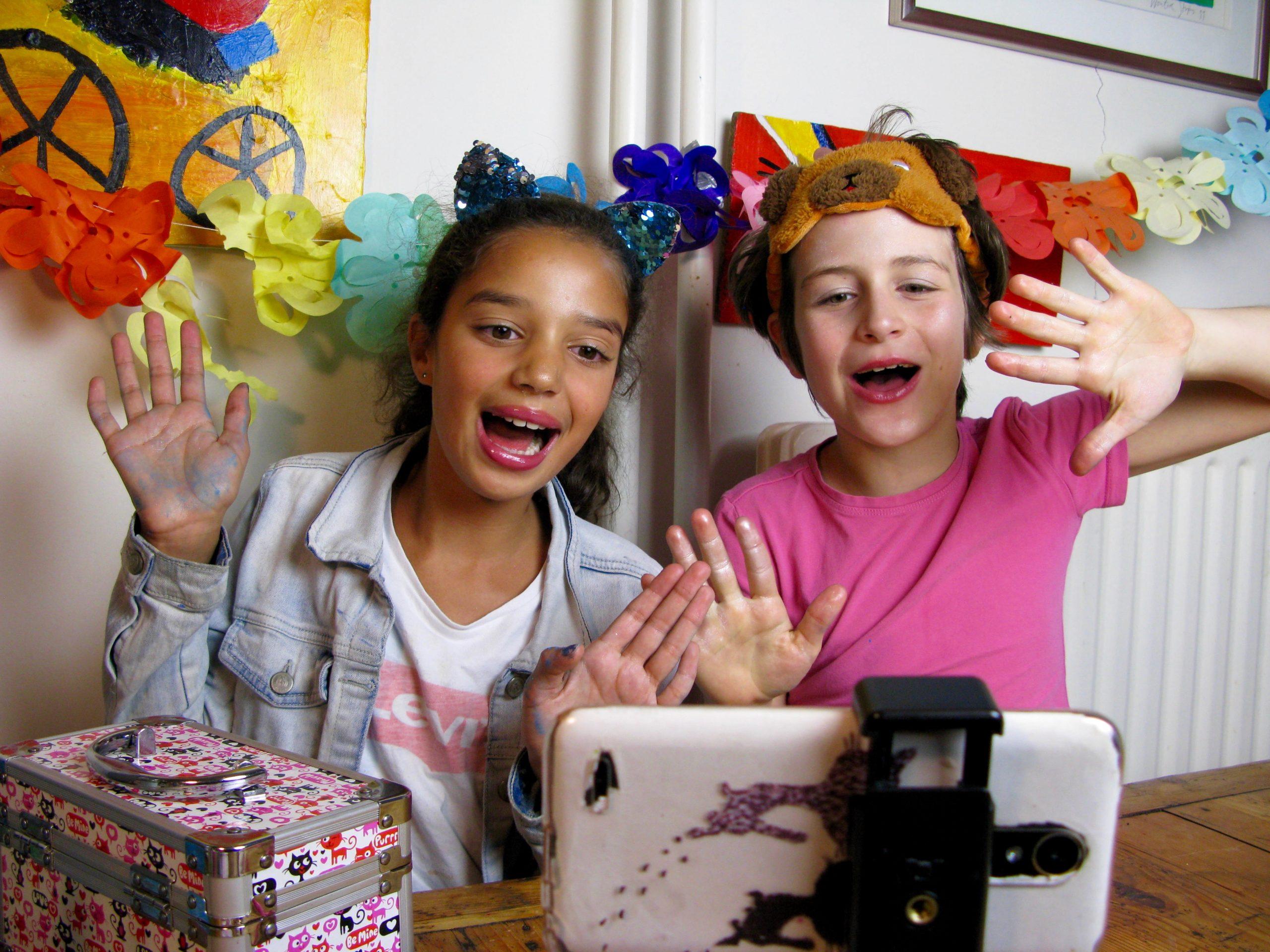 Workshops online kinderen