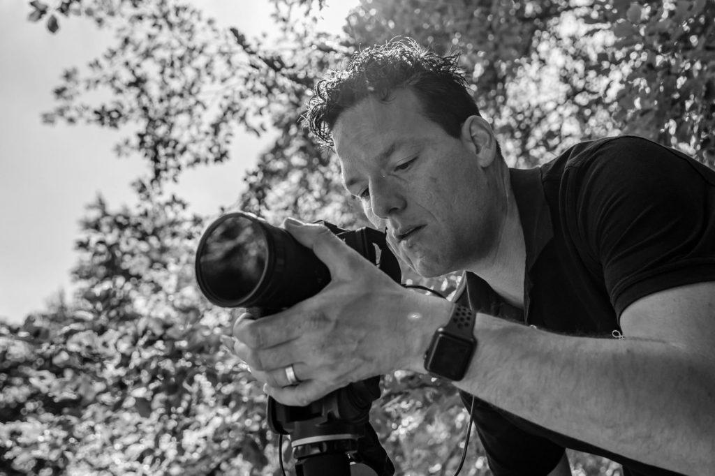 Mark Videograaf en Licht assistent