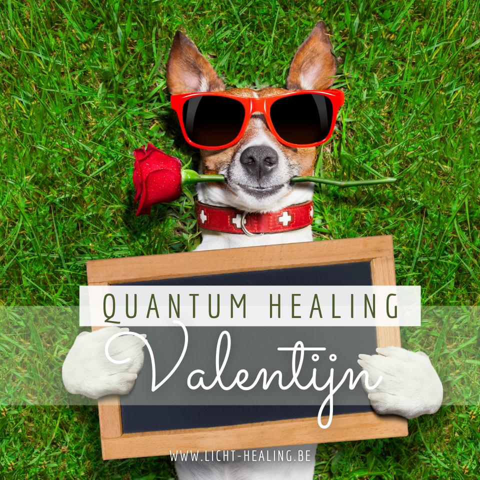 Quantum Healing Valentijn. Vind de Liefde in jezelf terug.