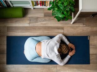 yoga thuis ontspanning