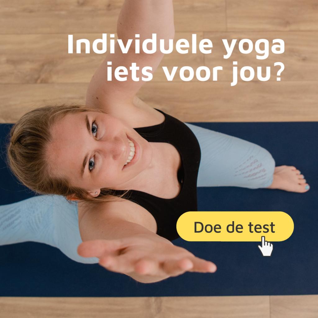 Individuele yoga