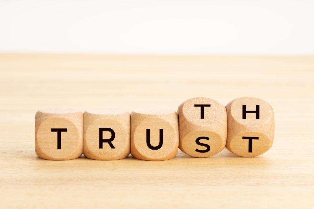 vertrouwen winnen