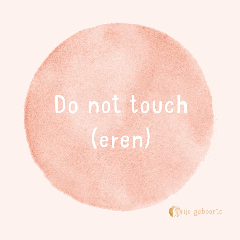 Waarom niet toucheren?